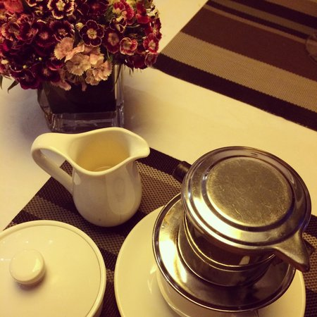 The Gourmet Corner Restaurant: Vietnamese drip coffee