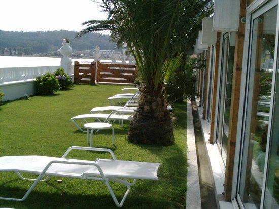 Talaso Hotel Louxo la Toja: Solarium del Spa
