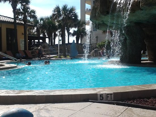Hampton Inn Jacksonville Beach/Oceanfront: pool