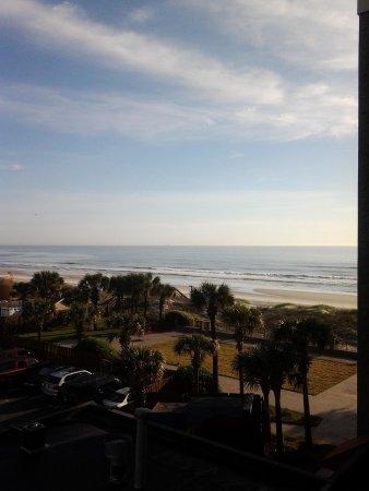 Hampton Inn Jacksonville Beach/Oceanfront: view