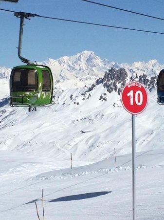 Hotel 3 Vallees: Val Thorens, Europe's highest ski resort