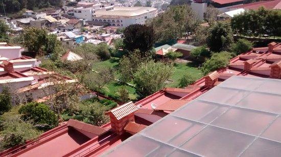 Kodai Resort: View from Resort