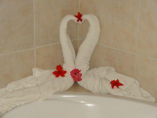 Grand Palladium Bavaro Suites Resort & Spa: Flower Fairy's work
