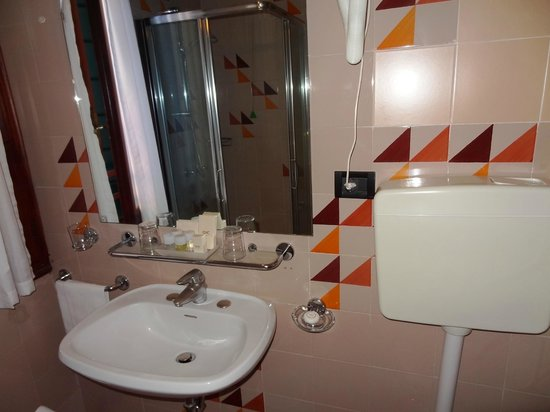 Hotel Carlton on the Grand Canal: Room bathroom
