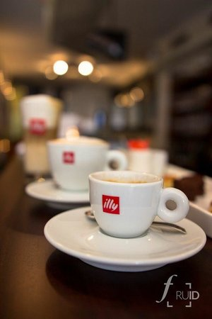 Le Barquichon : Illy koffie