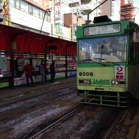 Hakodate Tram: レトロな車両