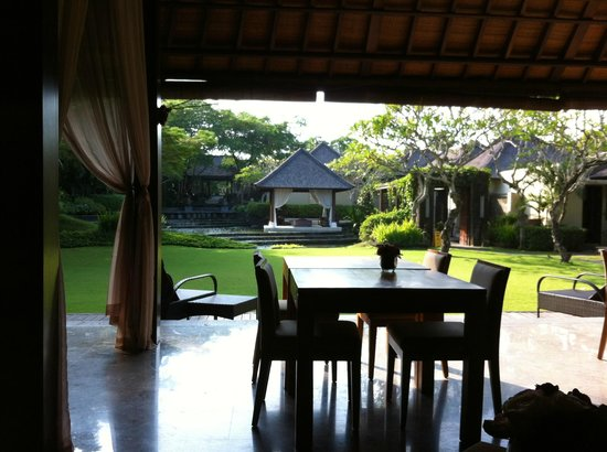 Villa Air Bali Boutique Resort & Spa: 朝食風景