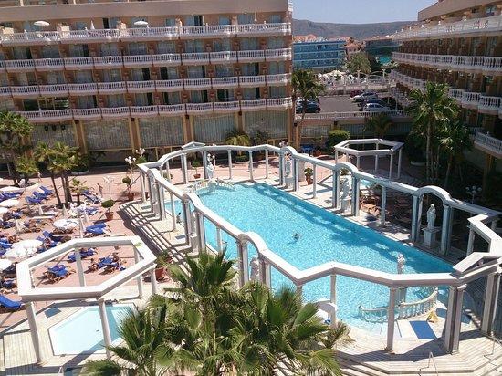 Cleopatra Palace Hotel : Tranquilla Piscina