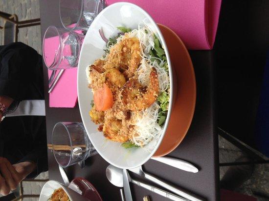 Chez tung: Bo Bun aux crevettes