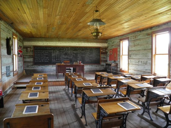Historic O'Keefe Ranch: school