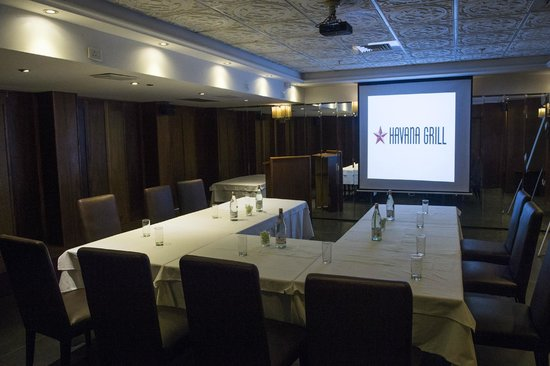 Havana Grill: Private Dining Room 2 (set For A Conference)