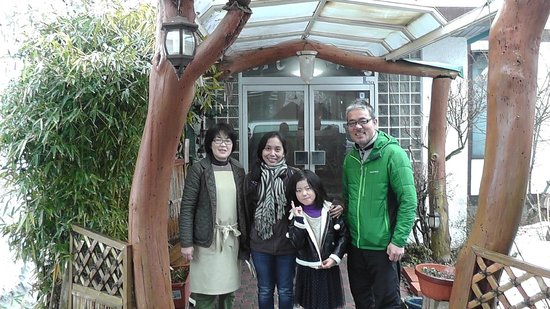 thank you for the great ryokan experience!