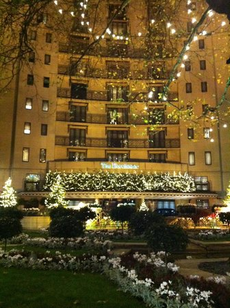 The Dorchester: Front of the hotel