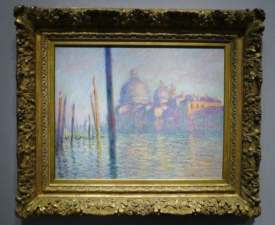 Museum of Fine Arts : Monet's Venetian series.
