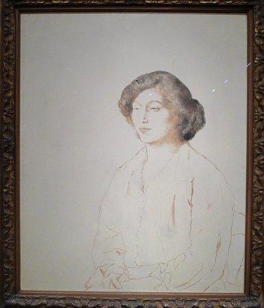 Museum of Fine Arts: Picasso. Portrait of Fernande Olivier (1905-1906)