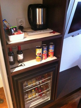 Spitz Hotel: good minibar!