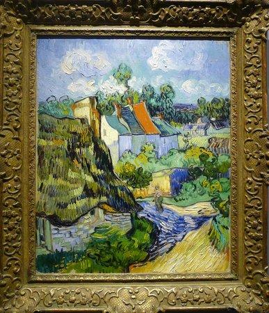 พิพิธภัณฑ์วิจิตรศิลป์: Van Gogh, Houses at Auvers (1890).