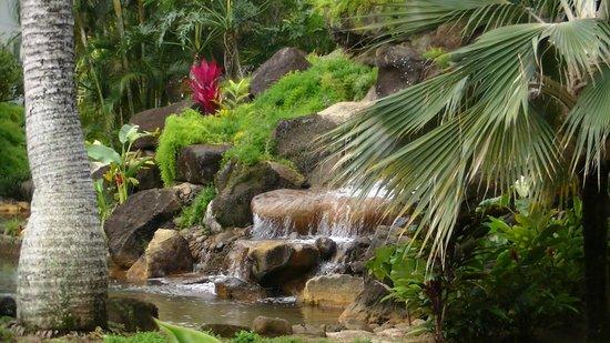 Wyndham Bali Hai Villas: Waterfall by pool