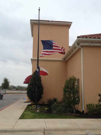 Residence Inn Killeen: God Bless America - Killeen TX - Ft Hood Tragedy