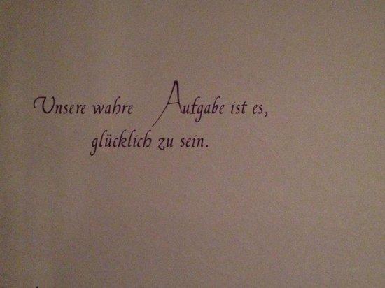 Hotel Engel: Poesie an den Wänden