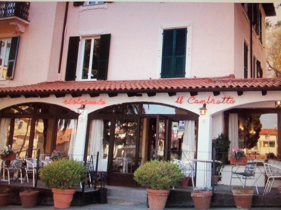 Hotel Ristorante Il Caminetto: entrata ristorante