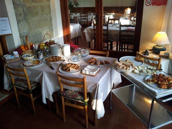Hotel Ristorante Il Caminetto: colazione maxi