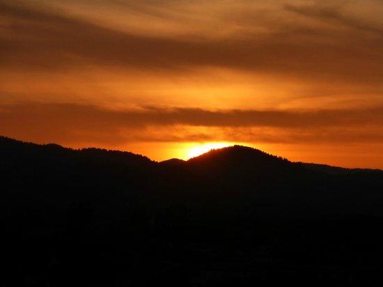 Healdsburg Ridge Open Space Preserve : Sunset!