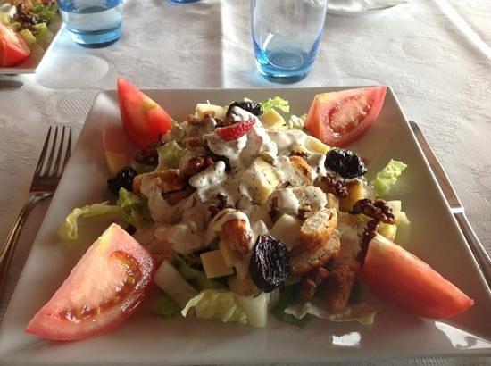 """""""Caesar Salad"""" at La Alcazaba"""