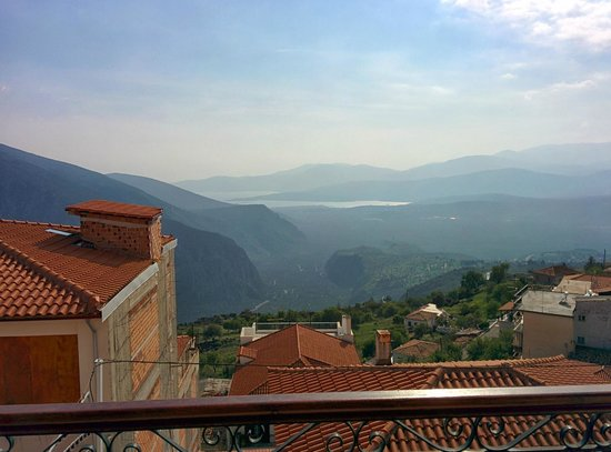 Fedriades Delphi Hotel : View from the balcony of my room