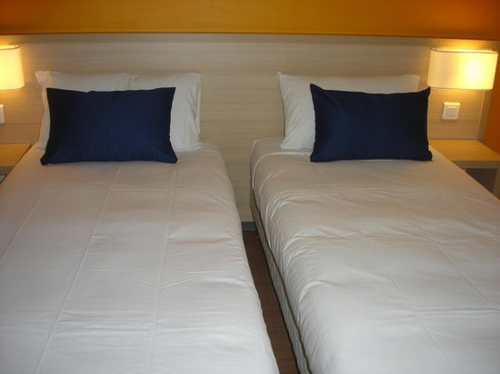 Budget Hotel : Chambre twin