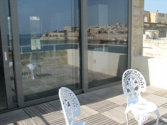 Sally Port Senglea: Terrace