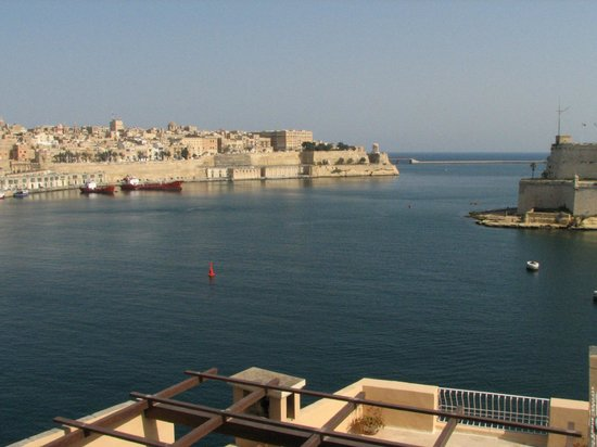 Sally Port Senglea: View from Terrace