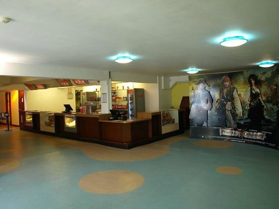 Island Cinemas: kiosk/box office
