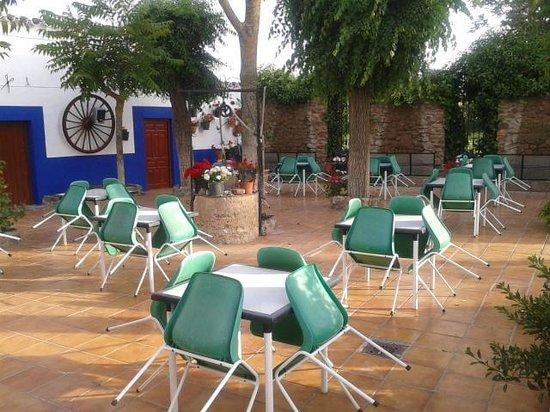 Restaurante El Tigre: Terraza