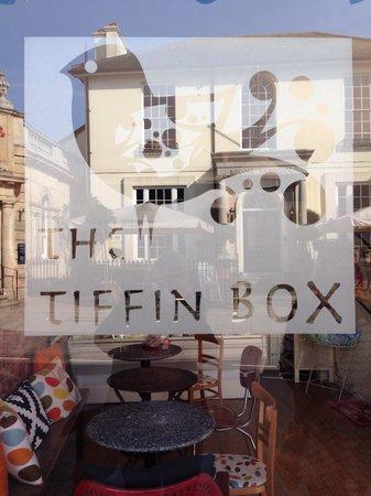 The Tiffin Box: Tiffin box logo