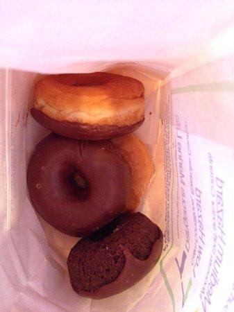 Donut Hole: Inside the bag.