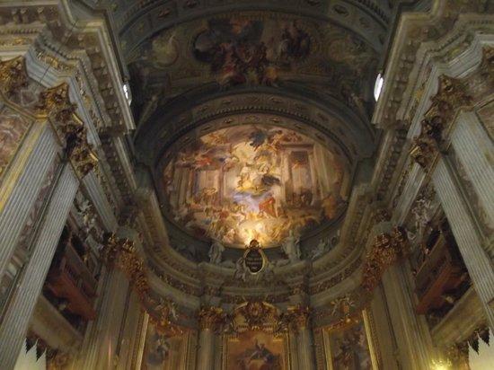 Chiesa di Sant'Ignazio di Loyola: Afresco da abside da igreja
