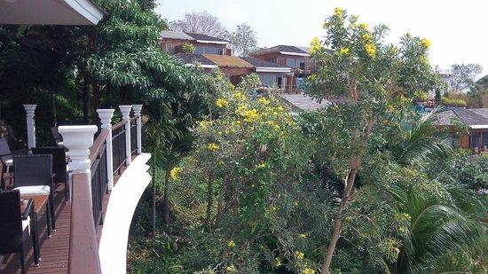 KC Resort & Over Water Villas: View from room 2