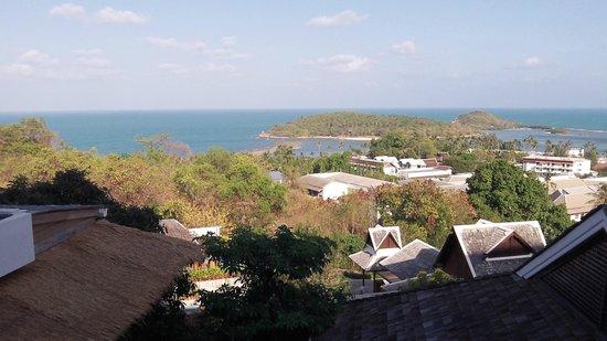 KC Resort & Over Water Villas : View from room 1