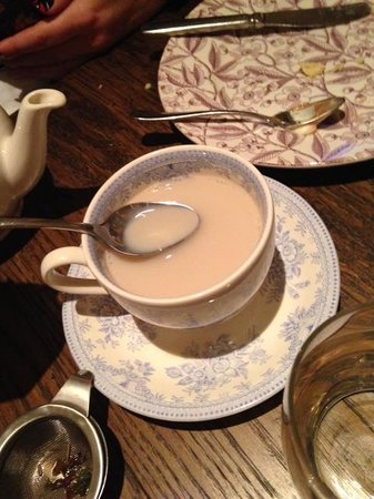 The Marylebone: Weak tea even after brewing