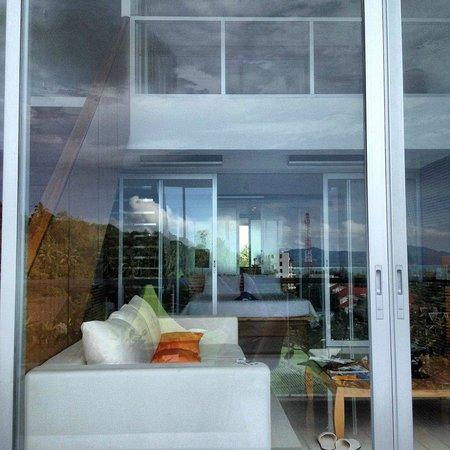 The Quarter Resort Phuket: вид с балкона на номер