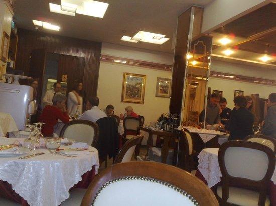 Hotel Vienna Ostenda: la sala ristorante