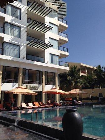 Unique Mui Ne Resort : Pool Side