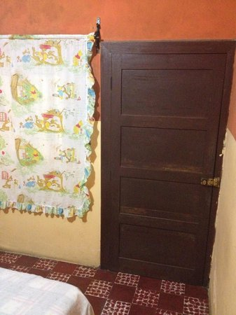 Posada el Refugio: Inside the bedroom