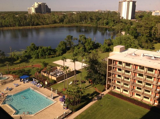 Wyndham Lake Buena Vista Disney Springs Resort Area: View from room
