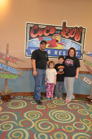 Adam's Mark Hotel & Conference Center: last day at Coco Keys!