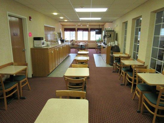 Parkfield Inn : Breakfast Area
