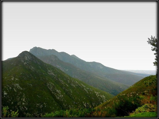 Backpackers Paradise & Joyrides: View on the shuttle drive from George to Oudtshoorn