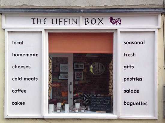 The Tiffin Box: Outside view