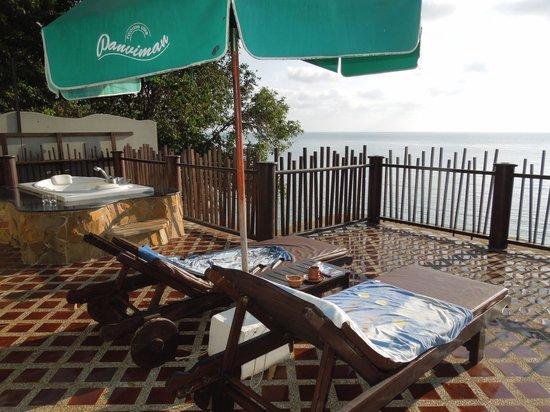 Panviman Resort - Koh Pha Ngan: Dachterasse deluxe Cottage